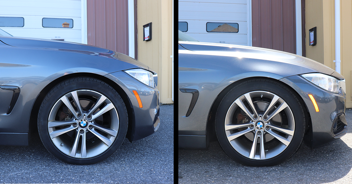 F32 Bmw 428i Lowered On H R Sport Springs Review Island Sport Works